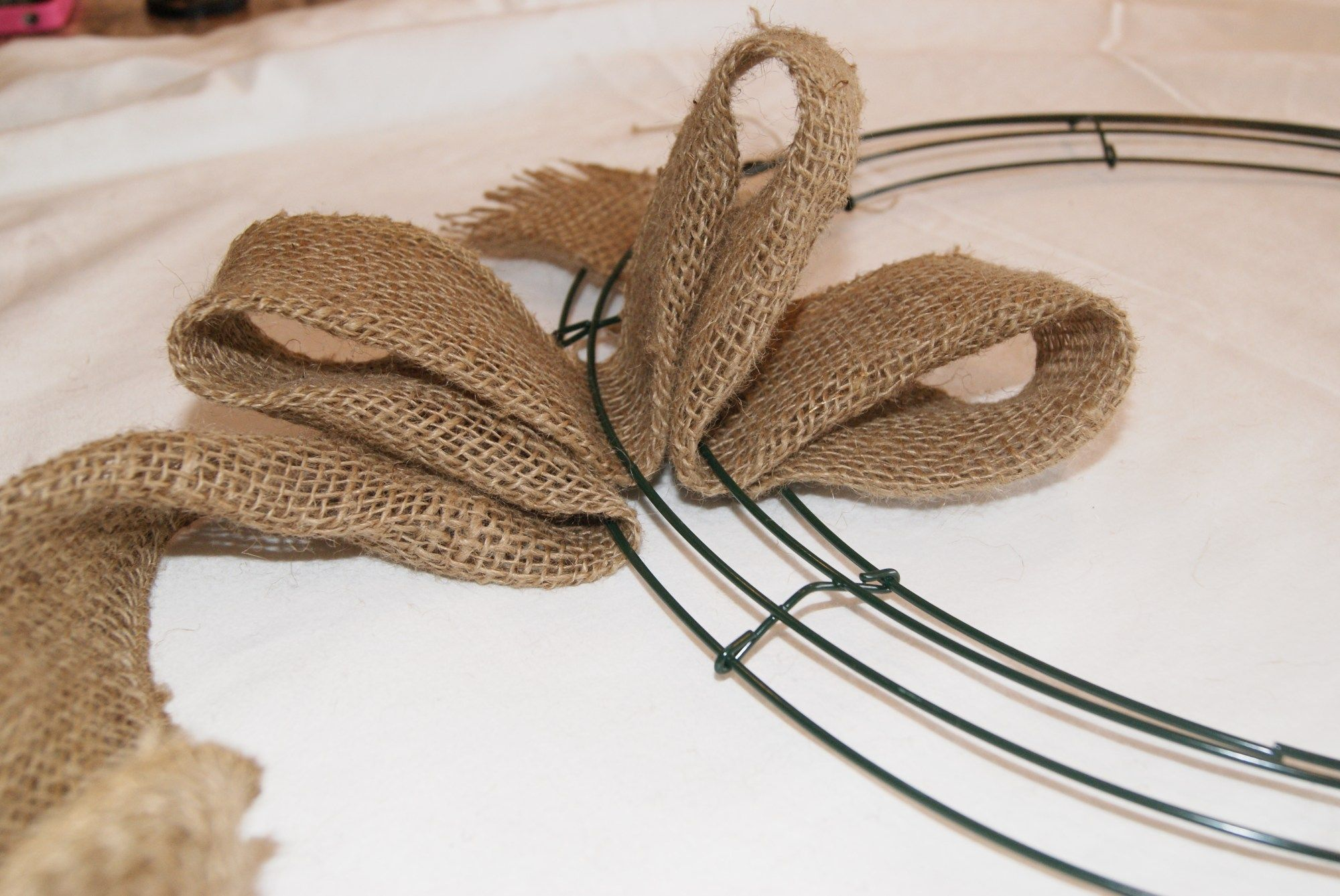 Photo of Burlap Wreath Tutorial – Canary Street Crafts