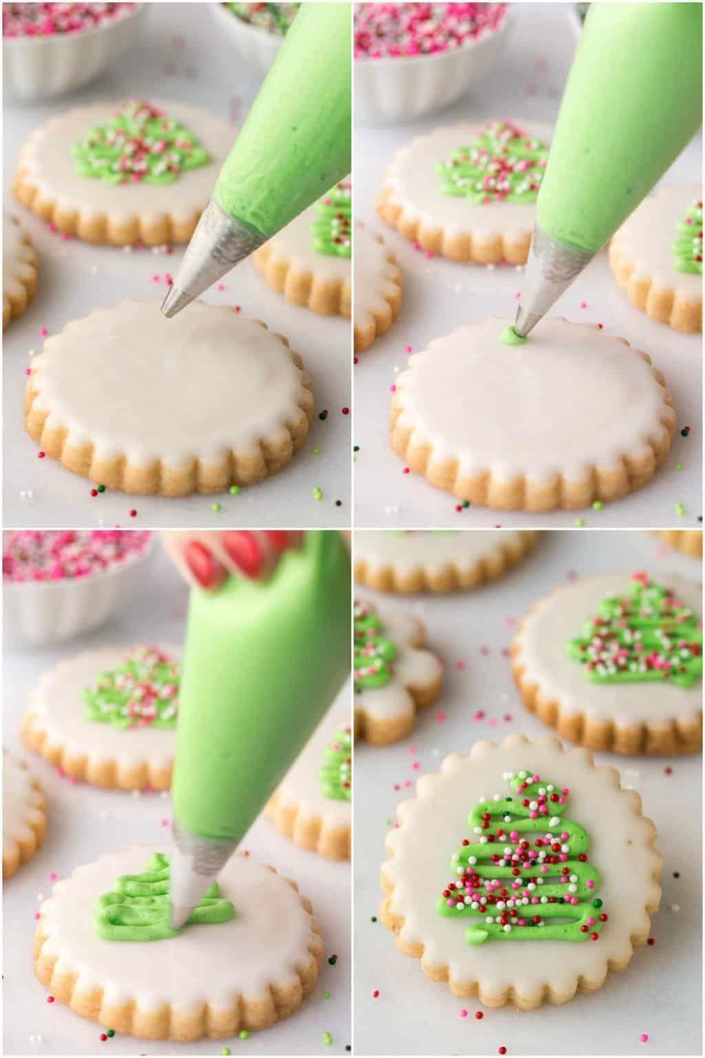 Shortbread Cookies Christmas.Easy Christmas Shortbread Cookies