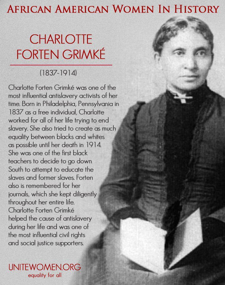 Charlotte Forten Grimke book