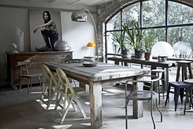 Dining Room Design · Greige: Interior Design Ideas And Inspiration For The  Transitional Home : Industrial Mix.
