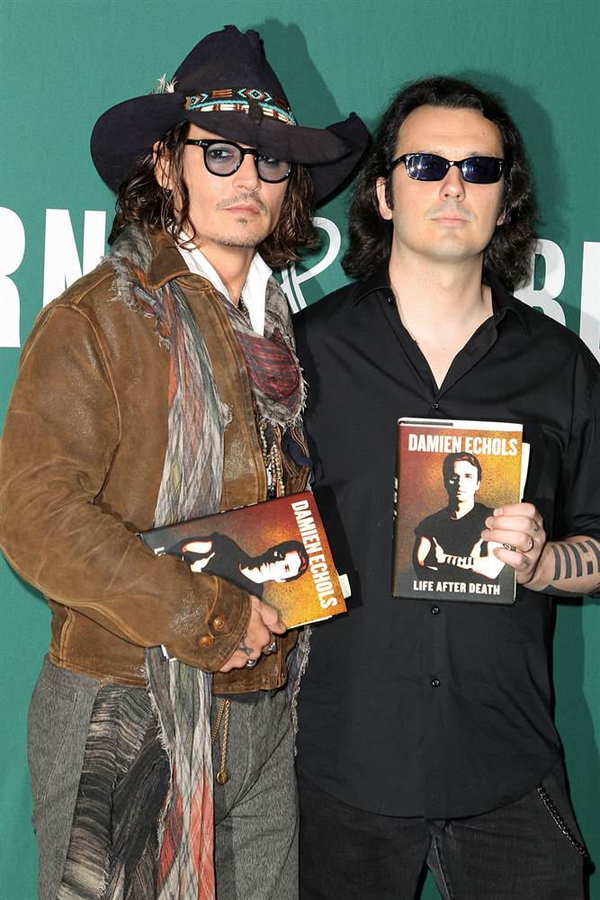 Johnny Depp, Damien Echols