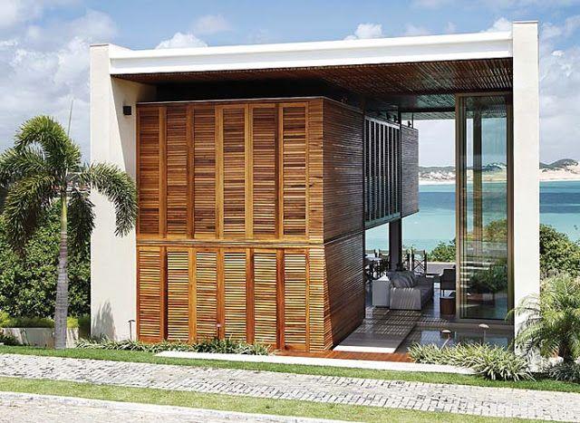 Casa em Natal, por Bernardes & Jacobsen Arquitetura ... Por New Home Designs on home spa, home la, home den, home usa, home pod, home cat, home det, home pro security home, home art, home se,