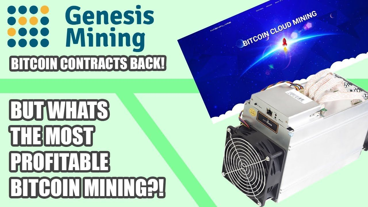 Most Profitable Bitcoin Mining Hardware Questions About Genesis