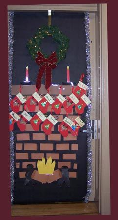 I Love This I Will Be Attempting To Do This On My Office Door This Year Office Christmas Decorations Christmas Door Decorations Christmas Classroom