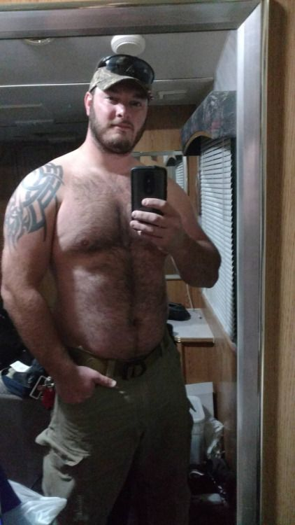 hairy gay men chested Beefy