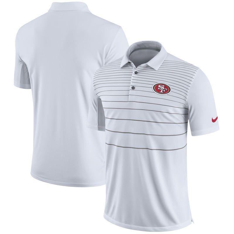 08967a0d San Francisco 49ers Nike Sideline Early Season Performance Polo ...