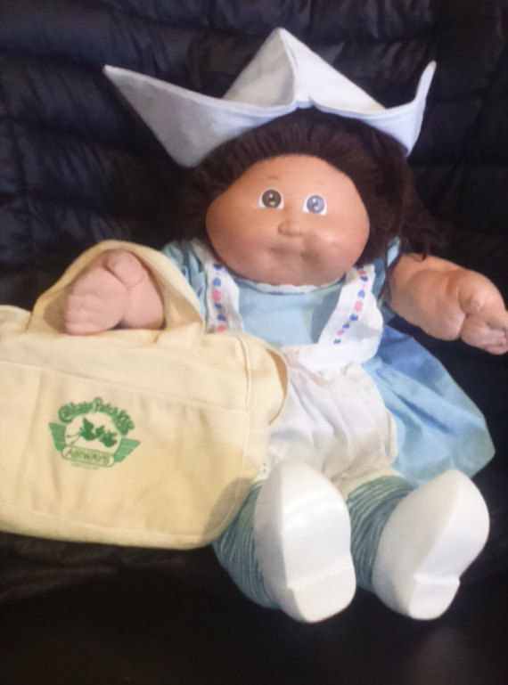 Vintage 1982 Coleco Cabbage Patch Holland World Traveler Doll Etsy Cabbage Patch Kids Dolls Cabbage Patch Babies Cabbage Patch