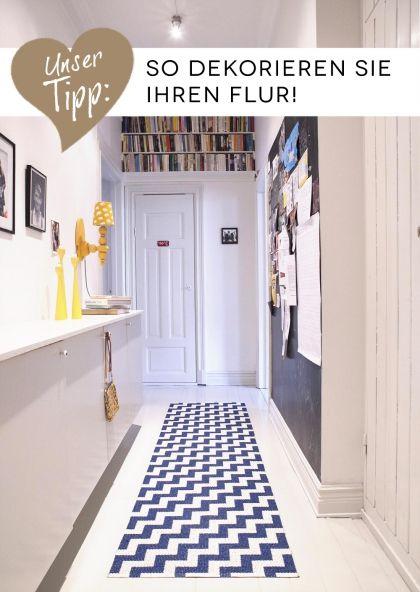 Teppiche von Brita Sweden - So gestalten Sie Flur & Diele | Flur ...