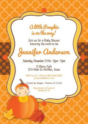25 perfect fall baby shower invitations pinterest fall baby 25 perfect fall baby shower invitations filmwisefo