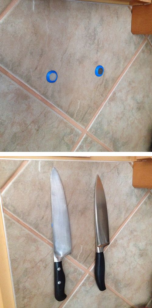 Make Your Own Diy Magnetic Knife Rack With Sugru Magnets