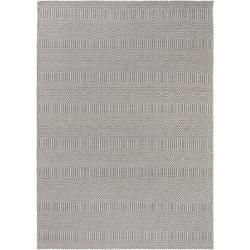 Photo of benuta flat woven carpet Sloan gray 100×150 cm – modern carpet for living room benuta