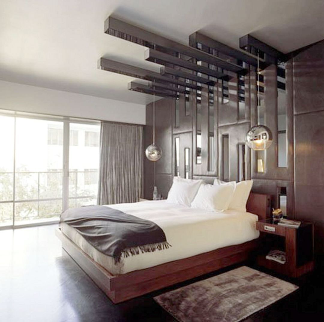 Elegant 10 Masculine Bedroom Ideas For Single Men In 2020 With