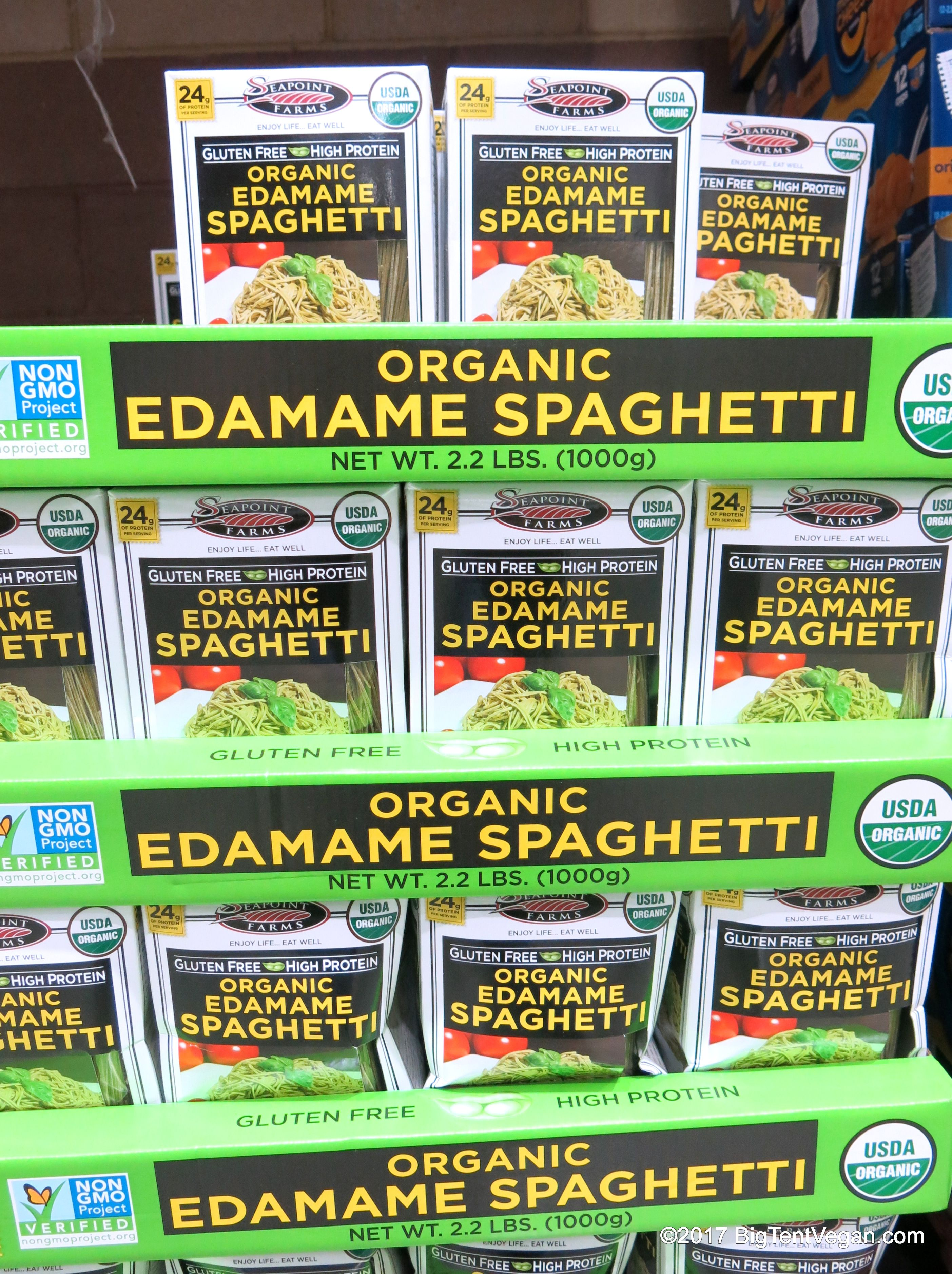Organic Edamame Spaghetti By Seapoint Farms Costco With Images