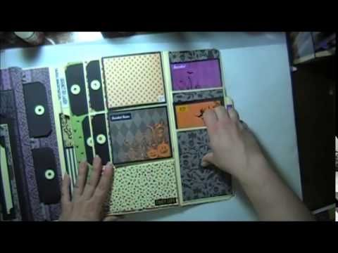 Halloween Lapbook Martha Stewart Kathy Orta Inspired - YouTube