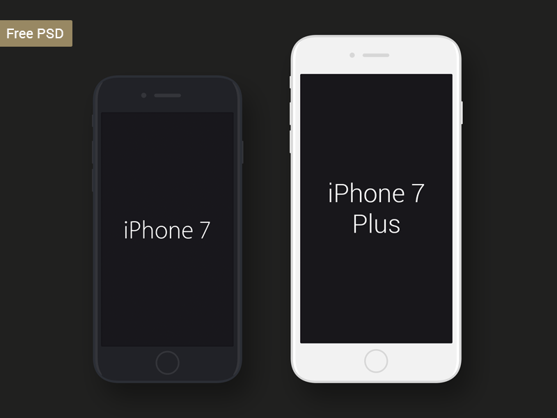 Download Iphone 7 Psd Mockup Iphone Iphone 7 Free Iphone