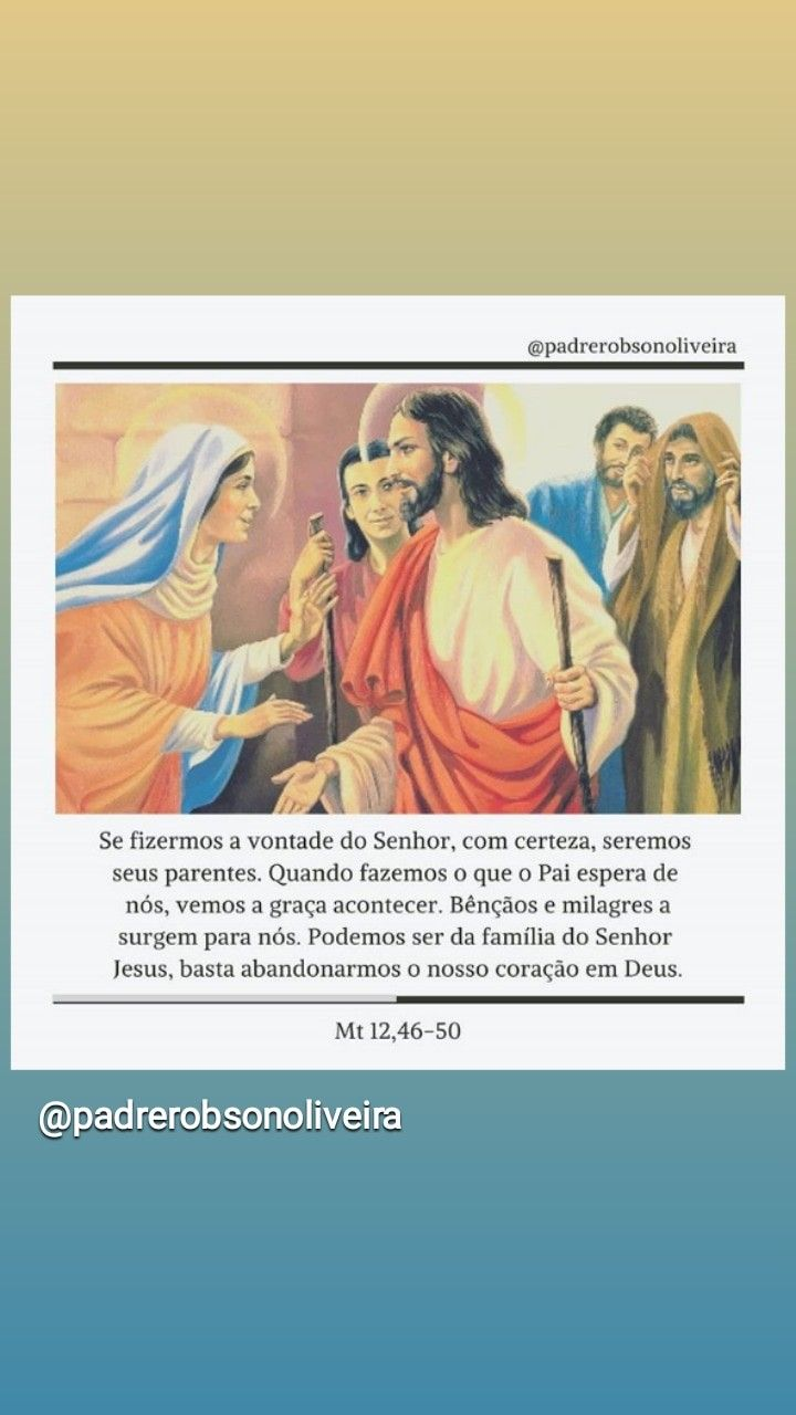 Pin De Cl U00e1udia Oliveira Em Religi U00e3o