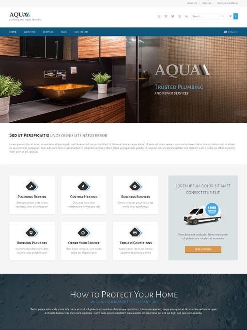 ait themes aqua free download ecommerce wordpress theme aqua rh pinterest com