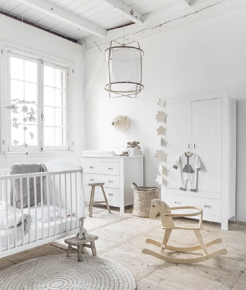 20 Beautiful Baby Boy Nursery Room Design Ideas Full Of: İskandinav Tarzı Çocuk Odaları Dekorasyonu