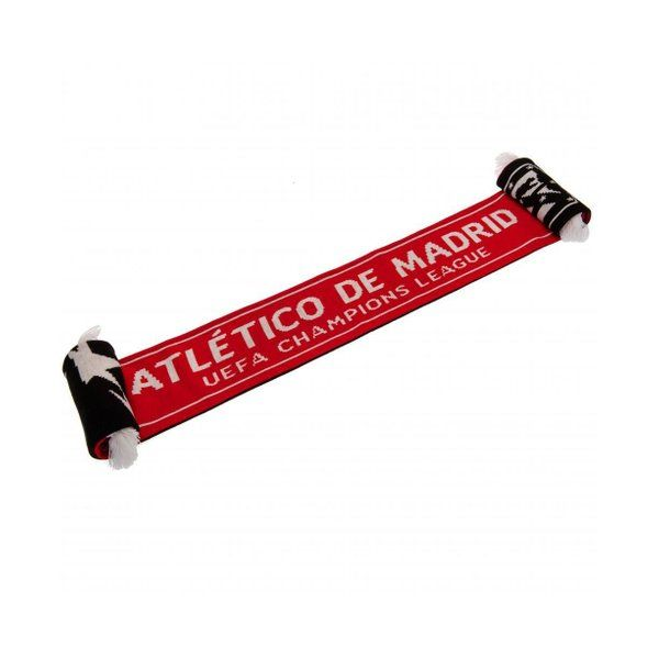 Photo of Atletico Madrid Fc Official Champions League Scarf (Red/Black) – TA4061