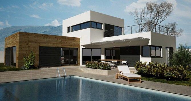 Vous rêvez du0027une maison contemporaine ? Design, chic, spacieuse