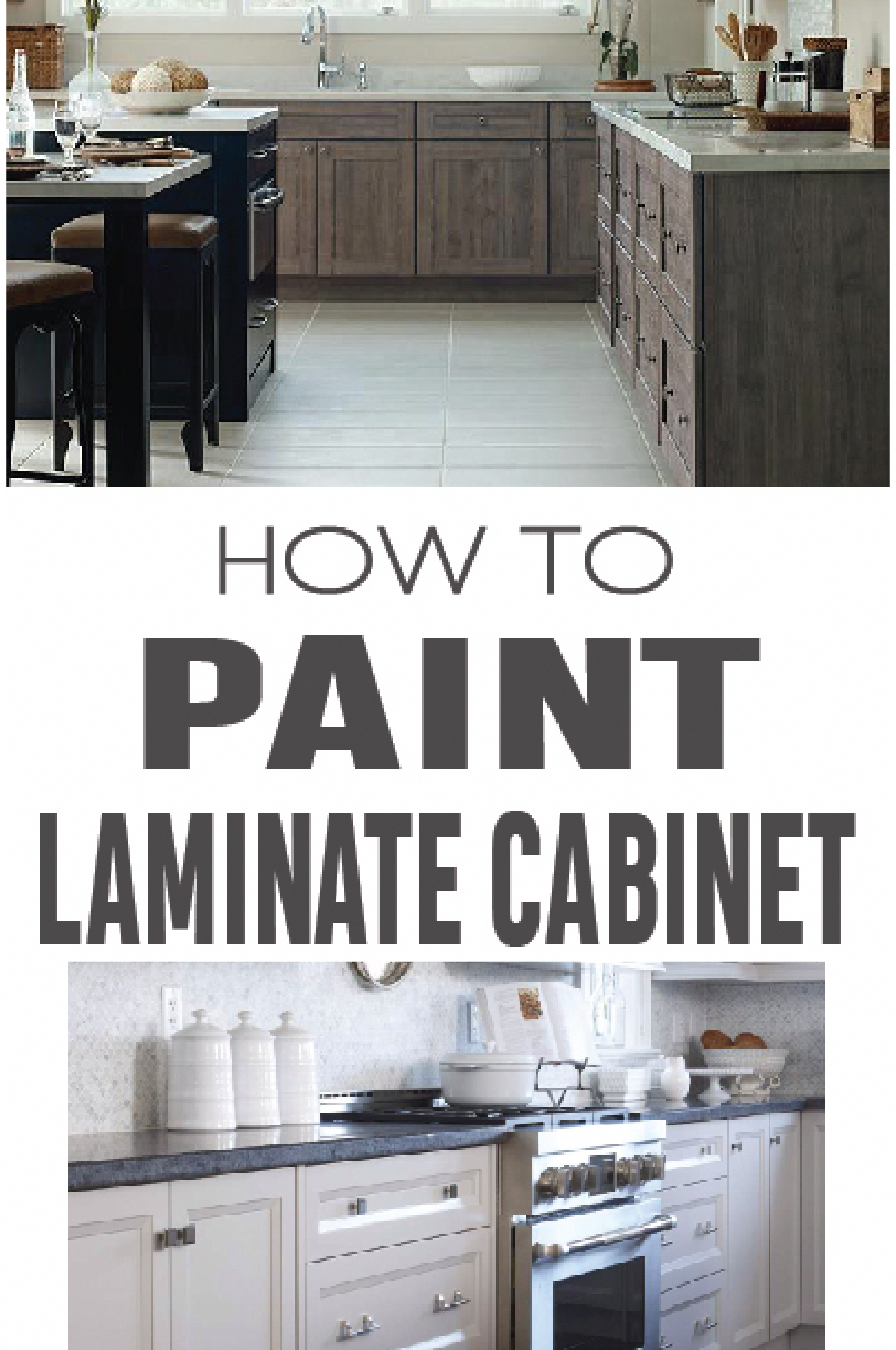 Learn How To Paint Laminate Cabinets Correctly With These Great Instructions Paintingk Painting Laminate Cabinets Laminate Cabinets Laminate Kitchen Cabinets