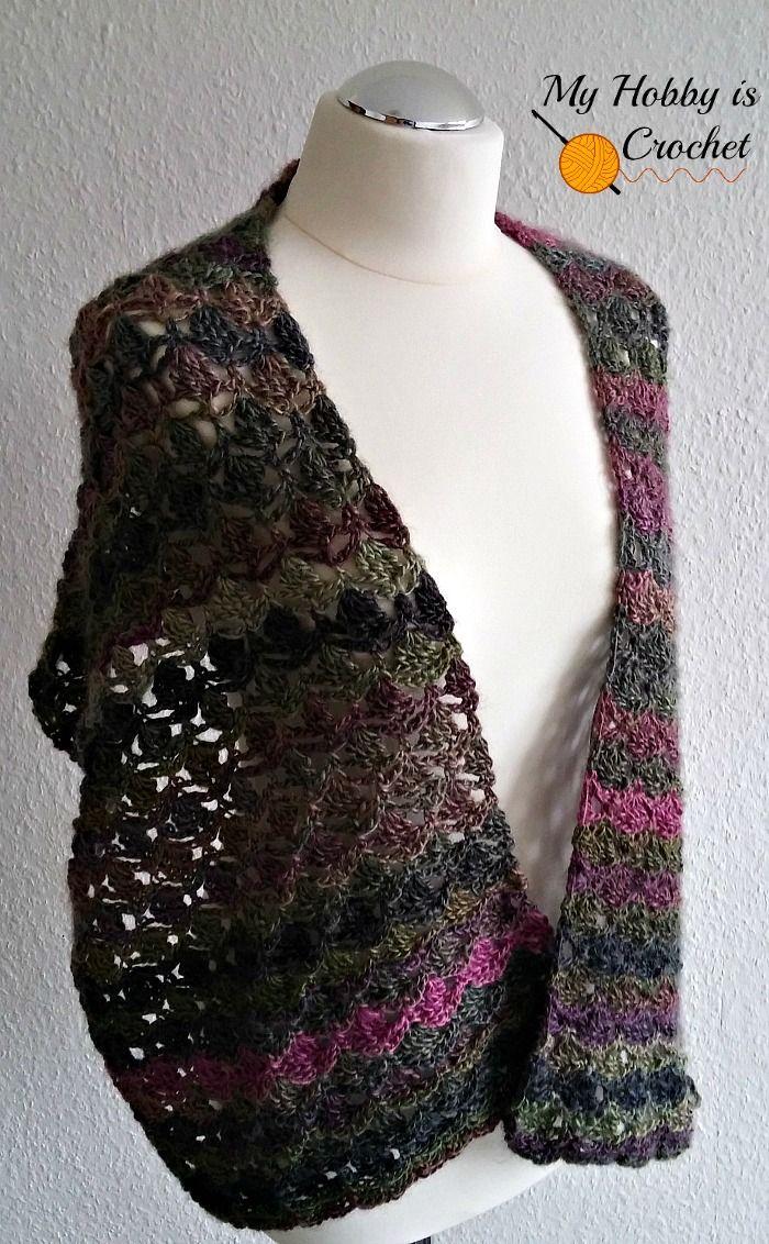 The Flora Wrap/ Shawl/ Scarf - Free Crochet Pattern | Crochet ...
