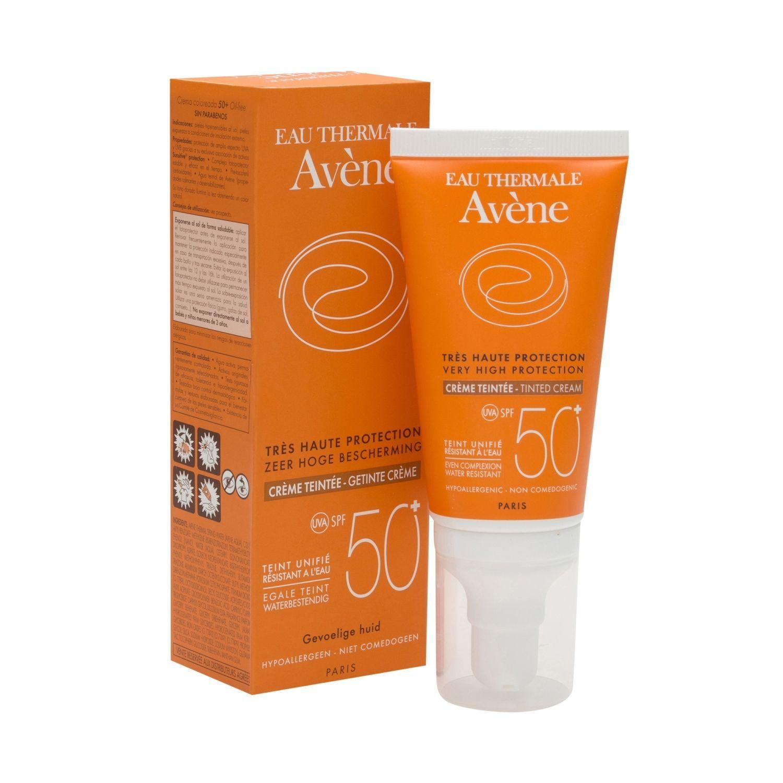 A Avene Solar Crema Coloreada Spf50 50ml Piel Sensible Crema Para La Piel Cremas