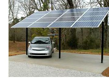 Pin By Aaron Hafele On Solar Solar Panels Solar Roof Carport Designs