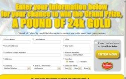 1 Pound Of 24k Gold Value 20 513 2 First Prizes Ounce