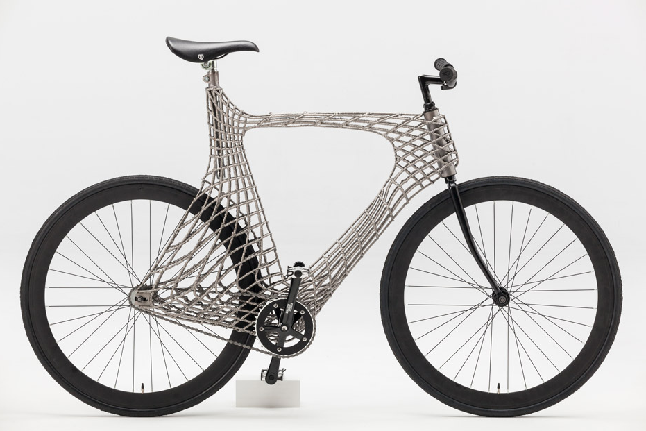 Are You Ready to Ride a 3-D–Printed Bicycle over a 3-D–Printed Bridge?
