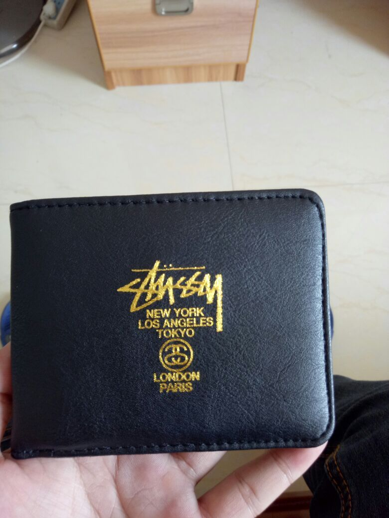 f1635506755e Pin by YOYO HU on Stussy embroidered short wallet purse card package ...