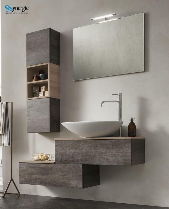 Off The Wall Or On The Wall Choosing The Right Bathroom Cabinets For Your Bathroom 4 In 2020 Badezimmer Neu Gestalten Badezimmer Einrichtung Modernes Badezimmerdesign