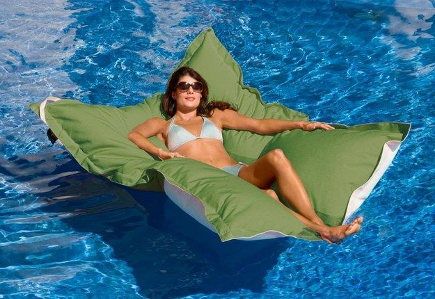 Oversized Floating Lounger | 26 Things Every Lazy Person Needs This Summer