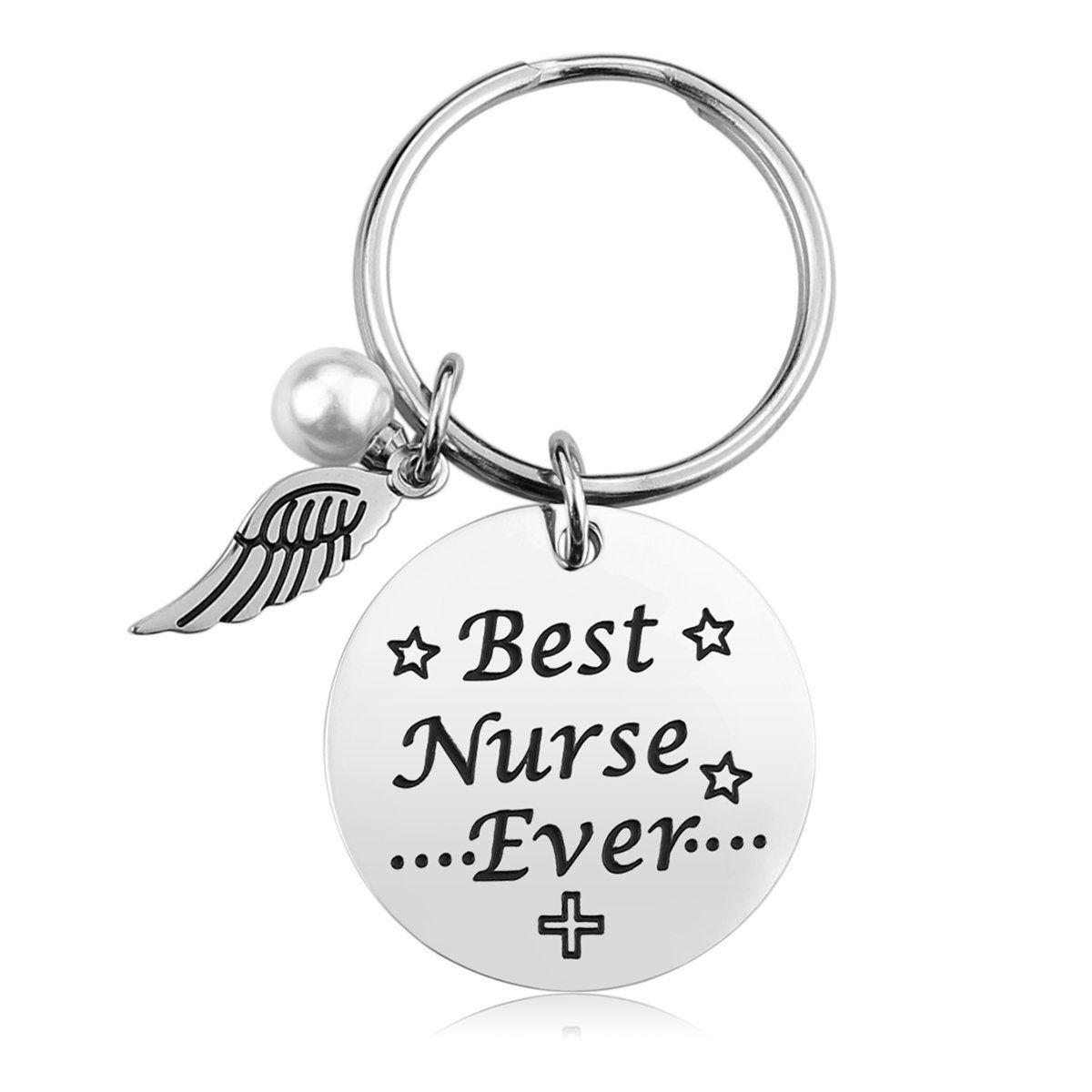 Nurse keychain gifts for women nursing keychain jewelry