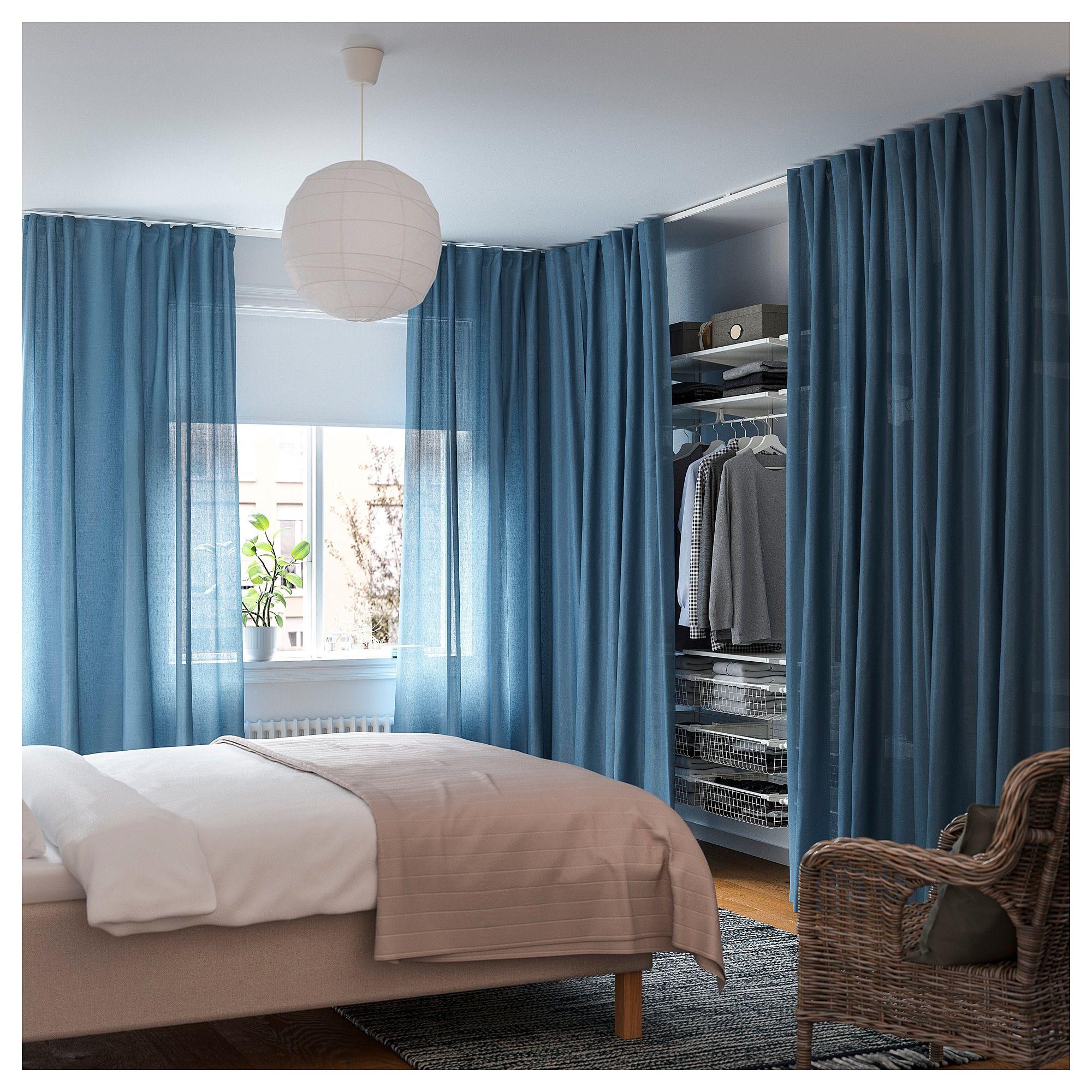 IKEA - VIDGA Corner Room Divider White