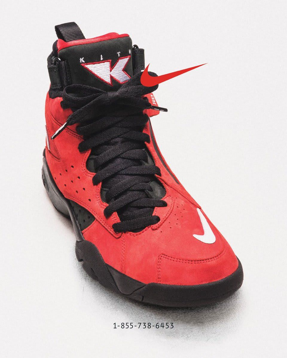5218d7bb558 Kith x Nike Air Maestro II High - Red Size 8.5 US   42 EUR