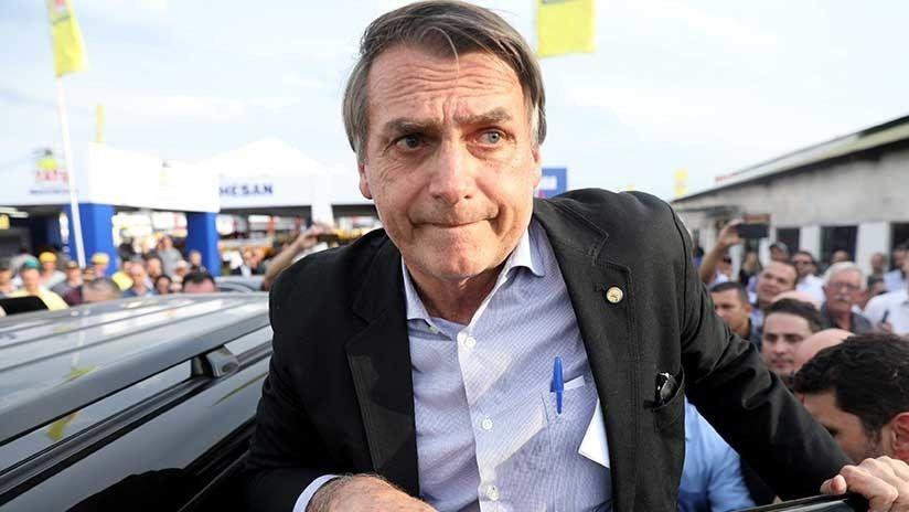 Resultado de imagen para agreden a candidato presidencial en brasil