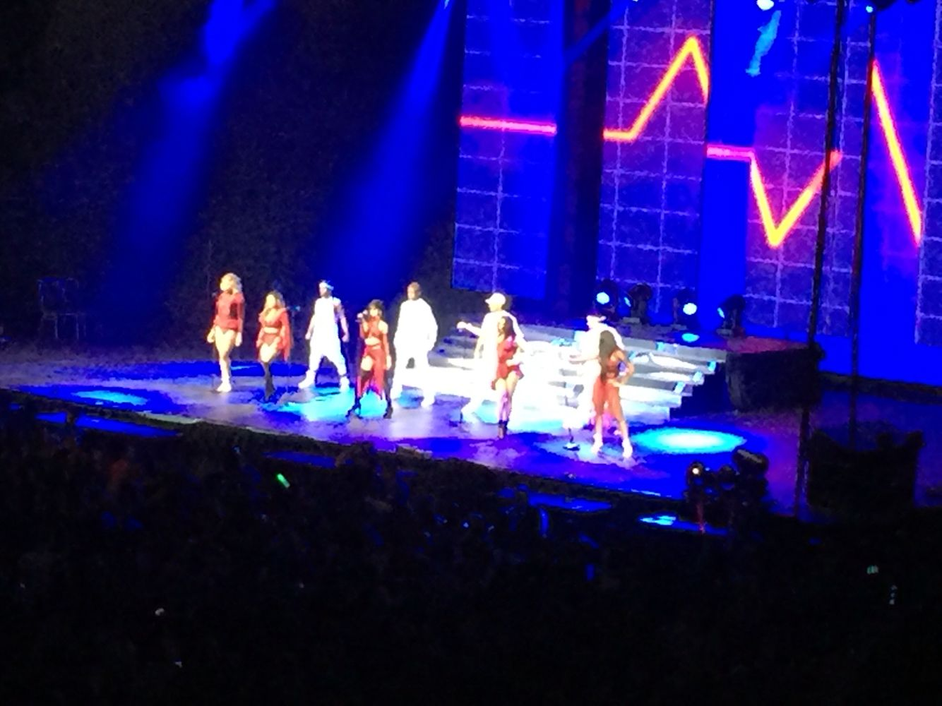 Fifth Harmony on stage