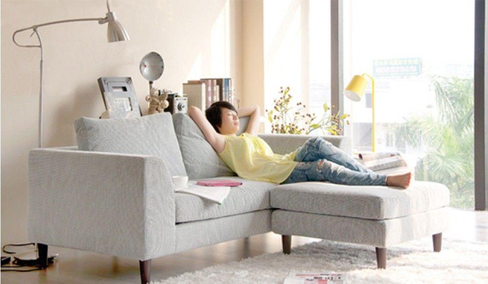 Mini L shape - Small Corner Sofa - Ideal for Small Rooms ...