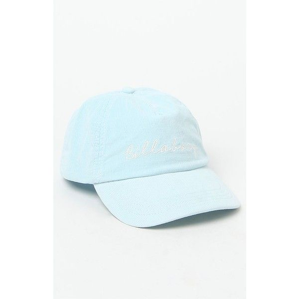 Billabong Gnarly Set Corduroy Baseball Cap ( 23) ❤ liked on Polyvore  featuring accessories and hats dabdf68bd25