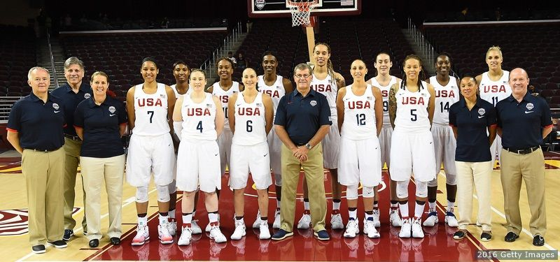 6 Days To Rio: U.S. #Women's #Basketball Team Is Coming In Hot For Sixth Straight #Olympic Gold