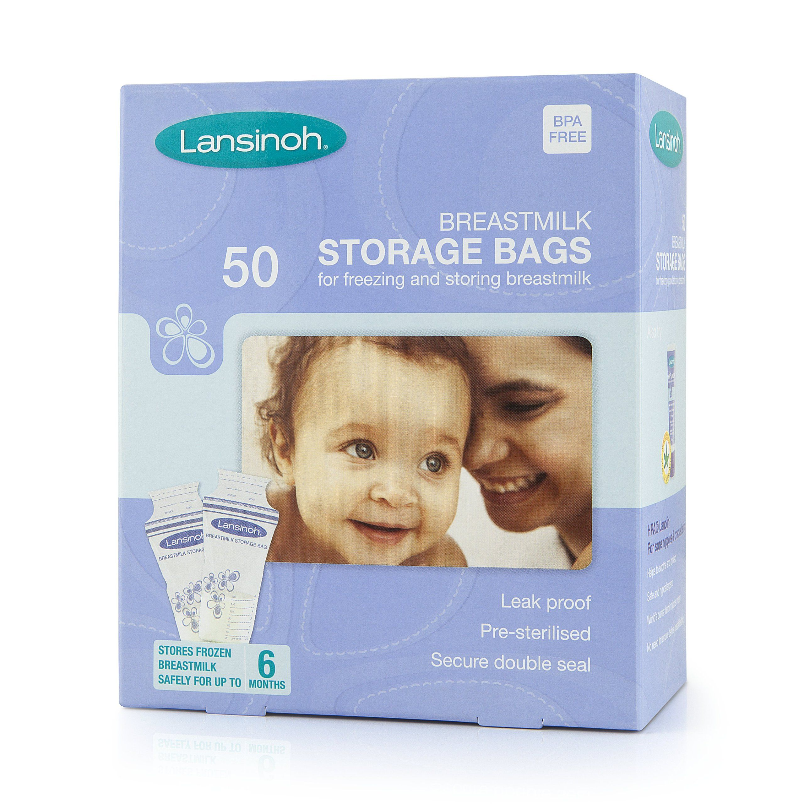 Lansinoh Tmilk Storage Bags 50 Pieces Co Uk Baby