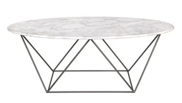 Marco Marble Oval Coffee Table New To Sif Category Catalog Style In
