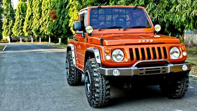 Suzuki Jimny Katana Sanctuary Orange 1 Katana Modifikasi Mobil