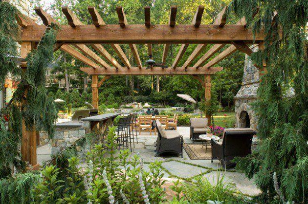 wonderful outdoor kitchen ideas   16 Fascinating Ideas To Create Wonderful Outdoor Place For ...