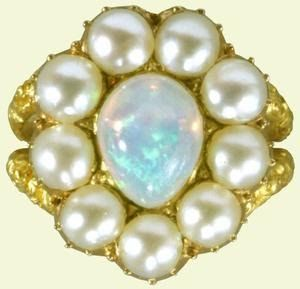 Queen Charlotte's Opal Ring, 1810