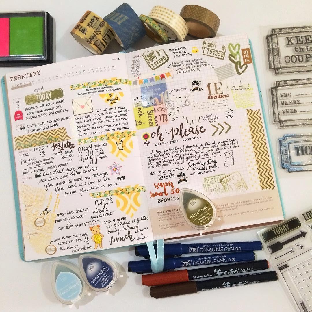 5/52 cbtl journal - added a few more washi tapes #artjournal #artjournals #journal #journaling #artjournaling #artjournal2016 #artjournallove #planner #plannerph #plannerlove  #planneraddict #washi #washitape #washitapeaddict #brew2016 #cbtlph #stickers #sticker #journalingph #artjournalph #journal #journaling #journalingph #zigphilippines