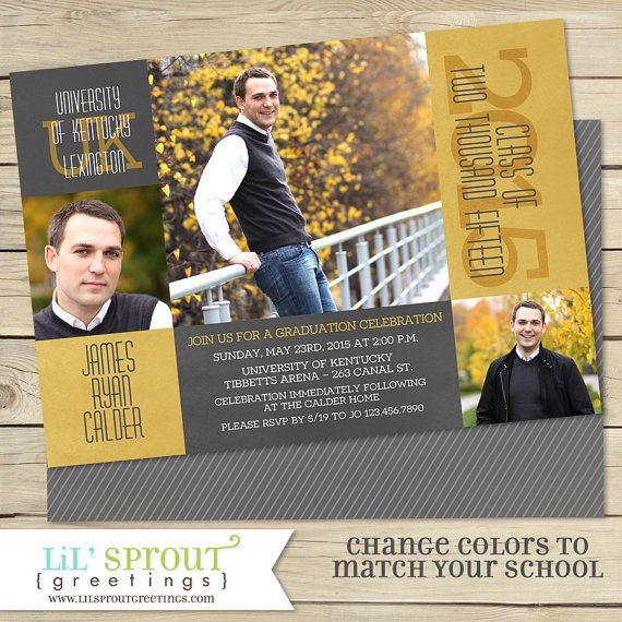 Class Of 2019 Graduation Announcement High School Or College