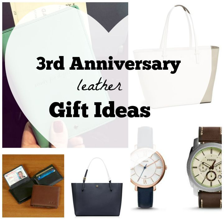 Gifts For 3rd Wedding Anniversary: 3rd Anniversary Leather Gift Ideas! Cute List!