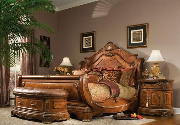 Eco Friendly Wooden Furniture For Green And Modern Interior Design Sleigh Bedroom Set King Bedroom Furniture California King Size Bed